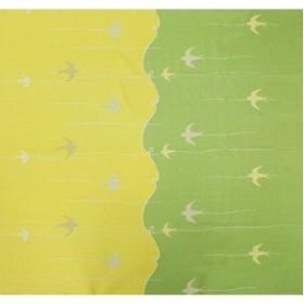 5000円以上送料無料 coco-cloth大判クロスSwallow 黄/黄緑 生活用品・インテリア・雑貨:日用雑貨:その他の日用雑貨