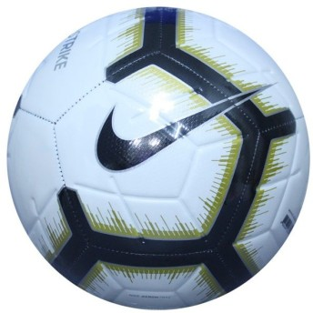 ストライク ホワイト×ブラック 【NIKE|ナイキ】サッカーボール5号球sc3310-102-5