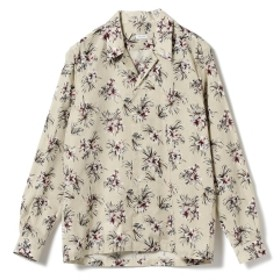 ORIAN / フラワープリント オープンカラーシャツ メンズ カジュアルシャツ BEIGE/60 XL