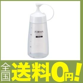 アスベル 調味料ボトル 細口中 「フォルマ」 ホワイト 2142