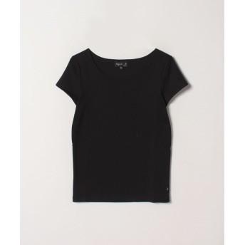 アニエスベー JG13 TS コットンTシャツ レディース ブラック 2 【agnes b.】
