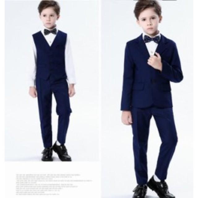 56204c9bbdc39 5点セット 子供スーツ 韓国 男の子 スーツ キッズ フォーマル タキシード カジュアル 子供服 入学・