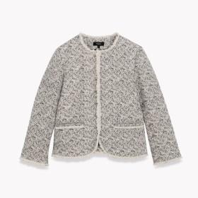 【Theory】Bamboo Tweed Feminine Slim Jkt