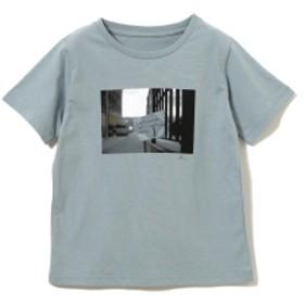 【カタログ掲載】B:MING by BEAMS / プリント Tシャツ 19SS キッズ Tシャツ MOSS×PHOTO 130
