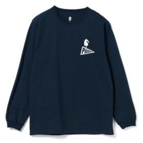 Pilgrim Surf+Supply / Grotesk Print Tee(Back Print) メンズ Tシャツ NAVY XL