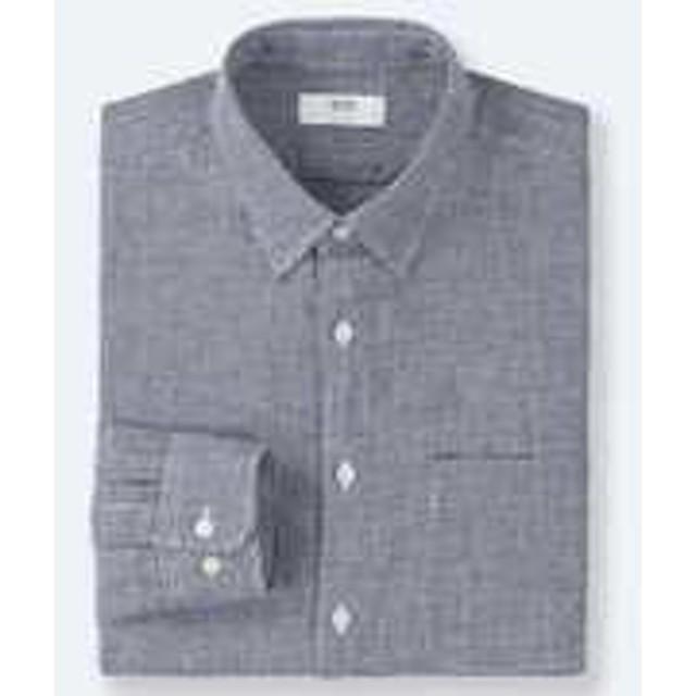 プレミアムリネンチェックシャツ(長袖)