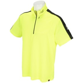 ニューバランス New Balance SPORT スタンドカラー ハーフジップ半袖シャツ