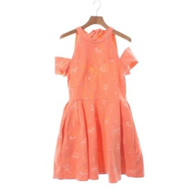 94a1603536713 Sretsis   スレトシス レディース ワンピース 色:オレンジ系等(総柄) サイズ: