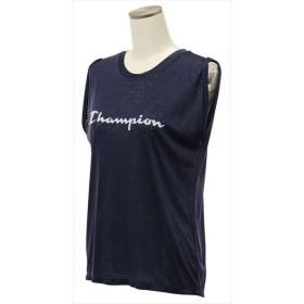 [champion]チャンピオン レディース ノースリーブシャツ (CW-PS311)(370) ネイビー[取寄商品]