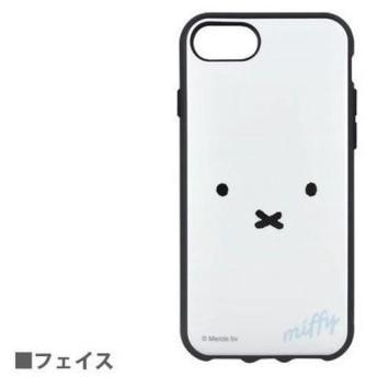 グルマンディーズ IIIfi+(イーフィット) ケース ミッフィー フェイス iPhone 8/7/6s/6用 MF-01WH