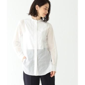 Demi-Luxe BEAMS オーガンジーチュニックシャツ レディース