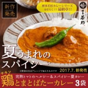 【ネコポス/送料無料】鶏とまとばたーカレー/チキンカレー/バターカレー/トマトカレー/インドカレー