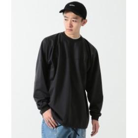 BEAMS / ルーズ フットボール Tシャツ メンズ Tシャツ BLACK XL