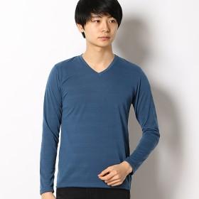 [マルイ]【セール】ハニカムシャドーボーダーLSTシャツ/メンズメルローズ(MEN'S MELROSE)