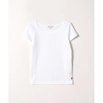 アニエスベー JG13 TS コットンTシャツ レディース ホワイト 3 【agnes b.】