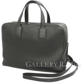 ロエベ ハンドバッグ ゴヤ ビジネスバッグ ブラック レザー LOEWE バッグ 書類バッグ ブリーフケース
