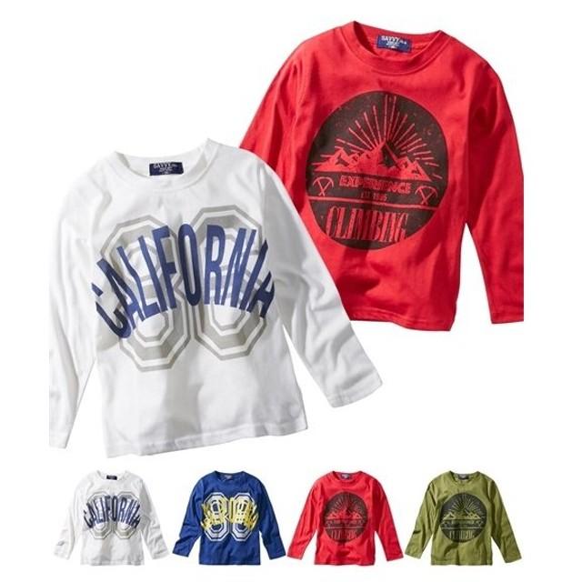 d09e505a01519 トップス・チュニック 綿混 プリント長袖Tシャツ(男の子 子供服) ニッセン nissen