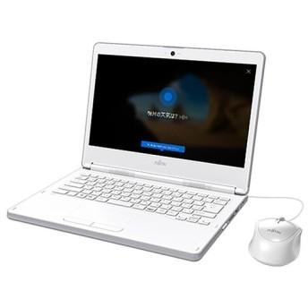 ノートパソコン office付き 新品 同様 富士通 FMV LIFEBOOK LH35/C2 14型 Celeron FMVL35C2W KINGSOFT Office HD SSD 128GB Windows10 PC 安い 訳あり