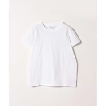 アニエスベー J000 TS コットンTシャツ レディース ホワイト 3 【agnes b.】