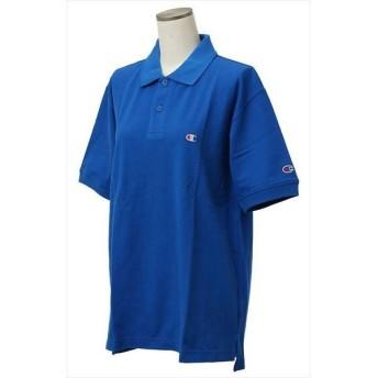 [champion]チャンピオン ポロシャツ (C3-F356)(327) ロイヤルブルー[取寄商品]
