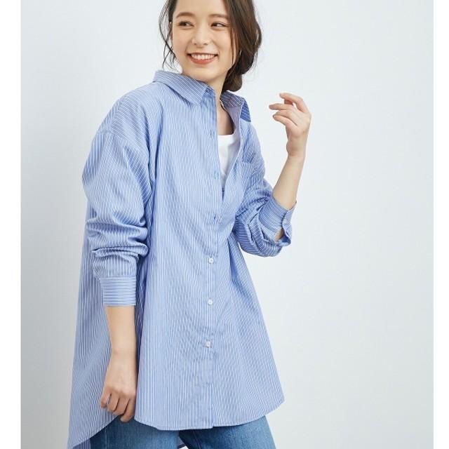 [マルイ] 【WEB限定】ストライプチュニックシャツ/ロペピクニック(ROPE' PICNIC)