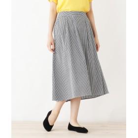 SHOO・LA・RUE/DRESKIP(シューラルー/ドレスキップ) タイプライターフレアスカート