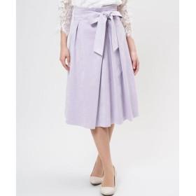 ef-de / ベルト付きフェイクスエードスカート《KOMASUEDE》
