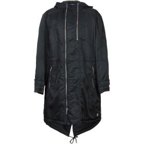《セール開催中》LHU URBAN メンズ コート ブラック 52 ナイロン 100%