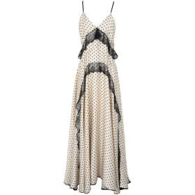 《期間限定 セール開催中》NORA BARTH レディース ロングワンピース&ドレス ベージュ 40 ポリエステル 100%