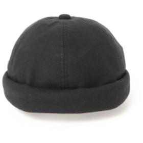 B:MING by BEAMS / コットン ロールキャップ メンズ キャップ BLACK ONE SIZE