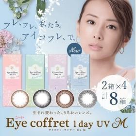 【計8箱¥5540】 アイコフレワンデーUVM (1箱10枚入り) 全4色 【※表示価格×4セット=8箱の価格となります】