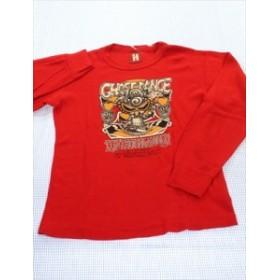 fb5bf3f09d9bd ヒステリックミニ HYSTERIC mini 長袖Tシャツ ロンt 130cm 赤系 キッズ トップス 男の子 女の子