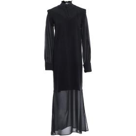 《期間限定セール開催中!》LE COEUR TWINSET レディース 7分丈ワンピース・ドレス ブラック XS レーヨン 50% / ナイロン 28% / ポリエステル 22%
