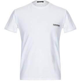 《期間限定セール開催中!》ROBERTO CAVALLI メンズ アンダーTシャツ ホワイト S コットン 95% / ポリウレタン 5%