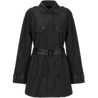 《セール開催中》EMPORIO ARMANI レディース コート ブラック 40 ポリエステル 100%
