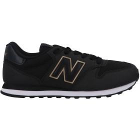 《期間限定 セール開催中》NEW BALANCE レディース スニーカー&テニスシューズ(ローカット) ブラック 6 紡績繊維
