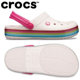 crocs クロックス crocband sequin band clog サンダル 205801
