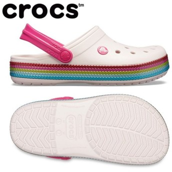 crocs クロックス crocband sequin band clog サンダル 205801