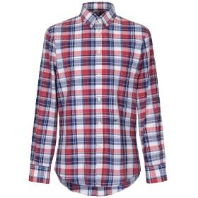 《送料無料》DSQUARED2 メンズ シャツ レッド 46 コットン 100%