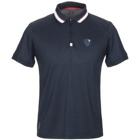 《期間限定 セール開催中》EA7 メンズ ポロシャツ ダークブルー M ポリエステル 100%
