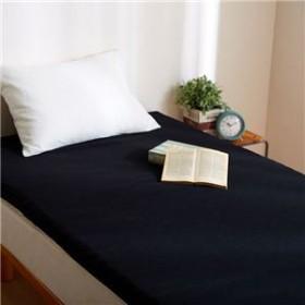 送料無料 リバーシブルウレタンマットレス 【シングル ブラック】 洗える カバー付き 通気性抜群 体重分散/体圧分散 ベッド対応 敷物 生