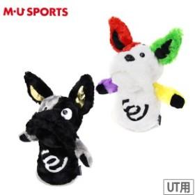ヘッドカバー メンズ レディース MUスポーツ エムユー スポーツ M.U SPORTS MUSPORTS 2019 春夏 新作 ゴルフ