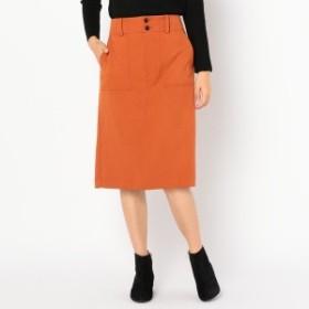 フレディ&グロスター レディース(FREDY&GLOSTER)/[新色追加]ウーリーサージ台形スカート