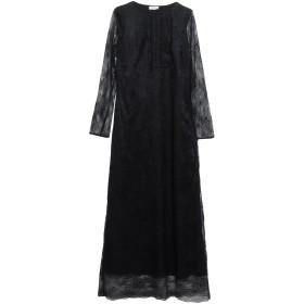 《期間限定セール開催中!》LE COEUR TWINSET レディース 7分丈ワンピース・ドレス ブラック XS ナイロン 100% / ポリウレタン