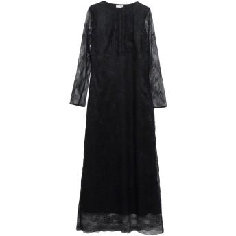 《セール開催中》LE COEUR TWINSET レディース 7分丈ワンピース・ドレス ブラック XS ナイロン 100% / ポリウレタン