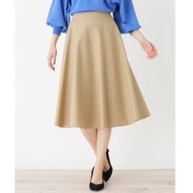 grove / グローブ 金ボタンミモレサーキュラースカート
