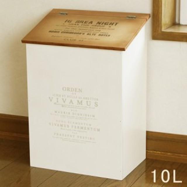 木製 ゴミ箱 ふた付き ダストボックス 茶色の屋根 日本製 BREA