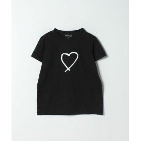 アニエスベー SAE0 TS サラエボハートTシャツ レディース ブラック 1 【agnes b.】