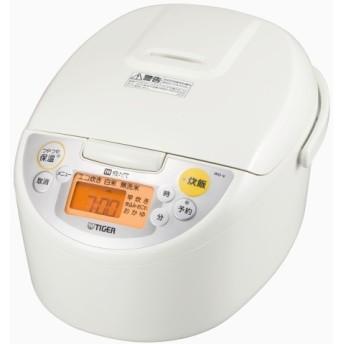 【タイガー】IH炊飯ジャー(5.5合) JKD-V100W ホワイト 5.5合炊き 炊飯器・ホームベーカリー