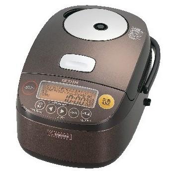 【象印】圧力IH炊飯ジャー(5.5合) NP-BF10TD ダークブラウン 5.5合 炊飯器・ホームベーカリー